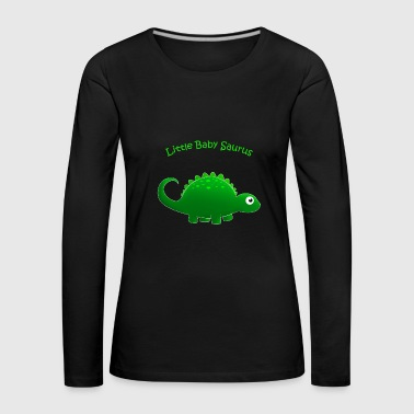 Green Little Baby Saurus - Women's Premium Longsleeve Shirt