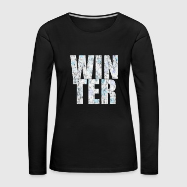 Winter winter - Women's Premium Longsleeve Shirt