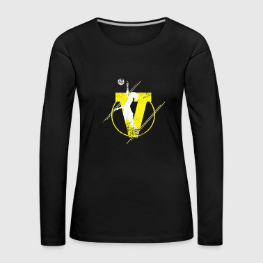 Volleyball Beach Volleyball Gift Volleyballer - Women's Premium Longsleeve Shirt