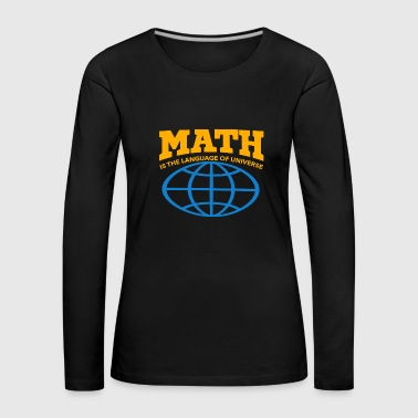 The language of the universe - Women's Premium Longsleeve Shirt