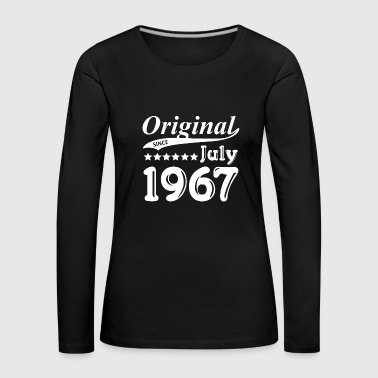 Age Original since July 1967 - Women's Premium Longsleeve Shirt