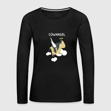 Cow angel cow angel gift - Women's Premium Longsleeve Shirt