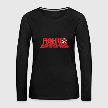 Fighter Finisher - Maglietta Premium a manica lunga da donna