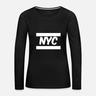 Nyc NYC - T-shirt manches longues Premium Femme