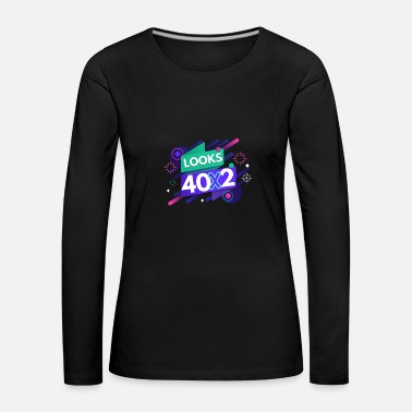80th Birthday 80th birthday - Women's Premium Longsleeve Shirt
