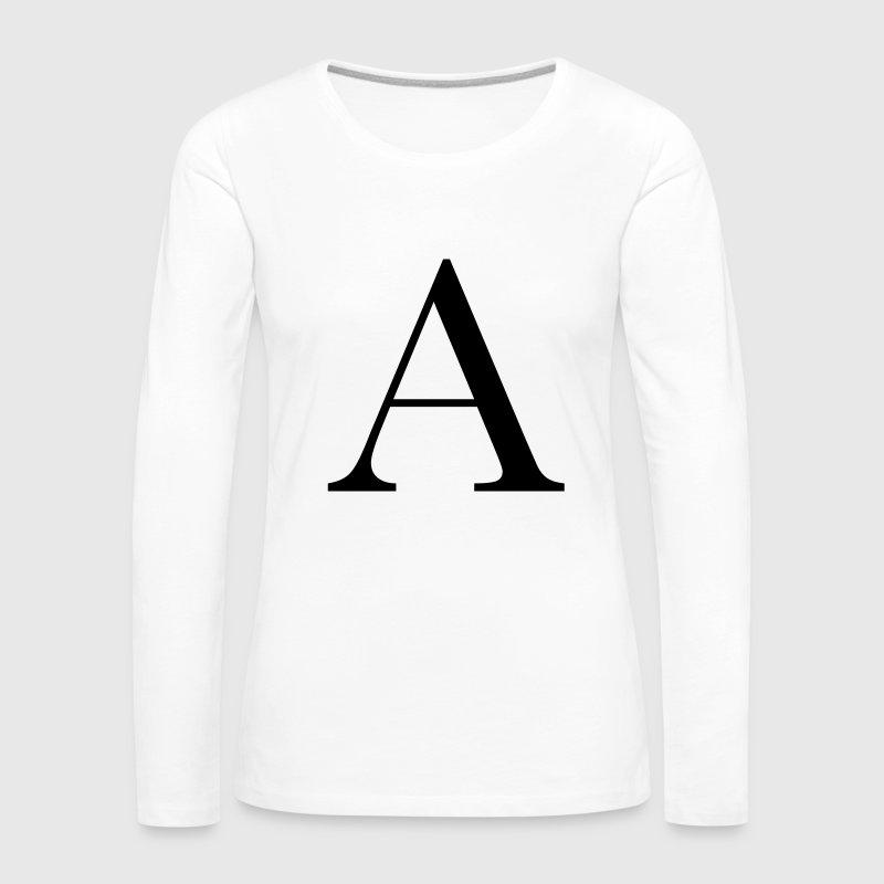 Buchstaben A von   Spreadshirt