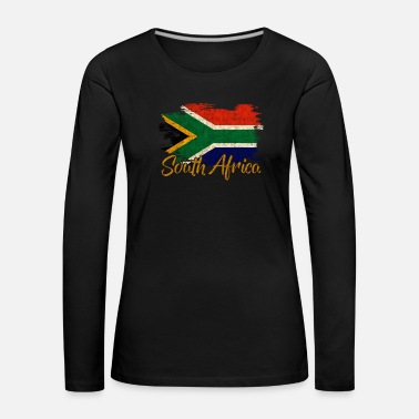 Landscape South Africa - Women's Premium Longsleeve Shirt