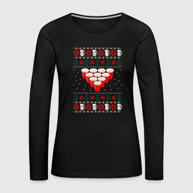 beer christmas sweater - Women's Premium Longsleeve Shirt