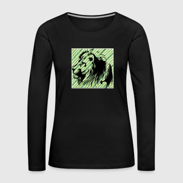 Tiger lion - Women's Premium Longsleeve Shirt