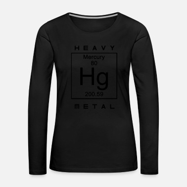 Heavy Metal heavy metal - Camiseta de manga larga premium mujer
