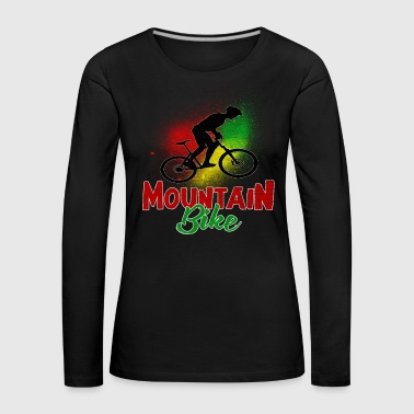 Wheel Mountain biking - Women's Premium Longsleeve Shirt