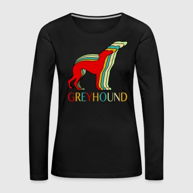 Jet greyhound - Women's Premium Longsleeve Shirt