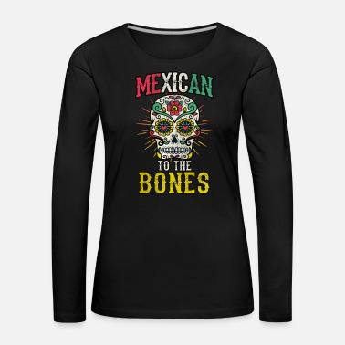 Mexico Day Of The Dead Mexico Day of the Dead Skull Mexican Mexico - Women's Premium Longsleeve Shirt