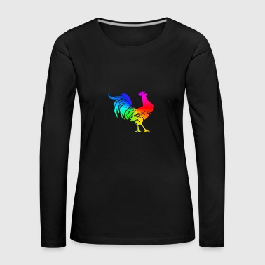 The rooster - chinese zodiac sign - Women's Premium Longsleeve Shirt