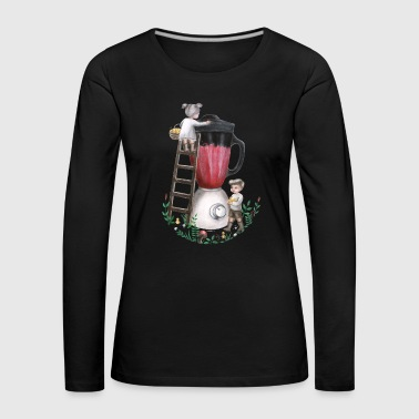 Animal The Smoothie Makers - Art for Animal Rights - Women's Premium Longsleeve Shirt