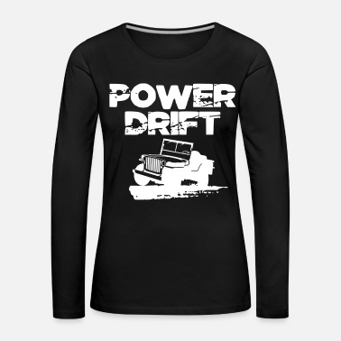 B Day Power Drift Off-road 4x4 4wd Gift - Women's Premium Longsleeve Shirt