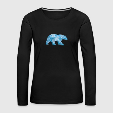 Polar Bear - Women's Premium Longsleeve Shirt