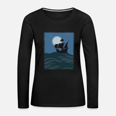 Pirate Pirate ship kids gift - Women's Premium Longsleeve Shirt