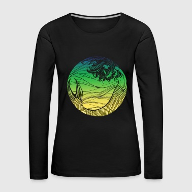 Mermaid mermaid mermaid fairytale - Women's Premium Longsleeve Shirt