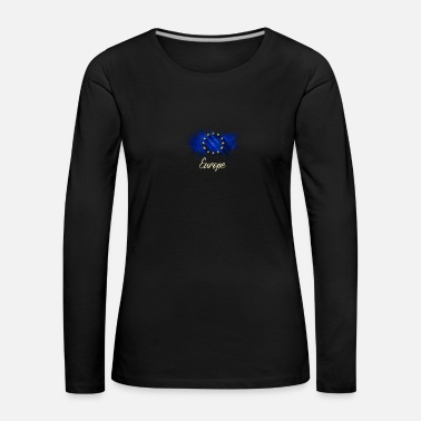 Europe Europe - T-shirt manches longues Premium Femme