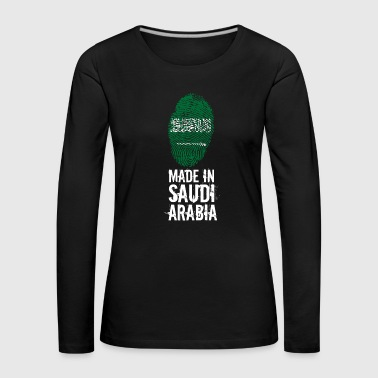 Made In Saudi Arabia / Saudi Arabia - Women's Premium Longsleeve Shirt