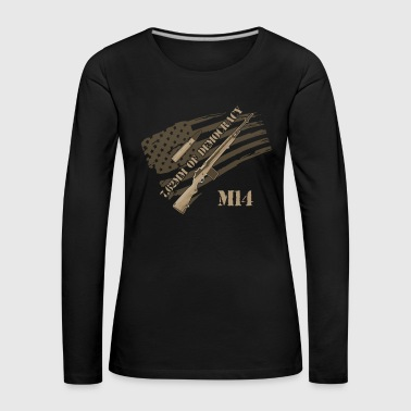 M14 RIFLE - Women's Premium Longsleeve Shirt