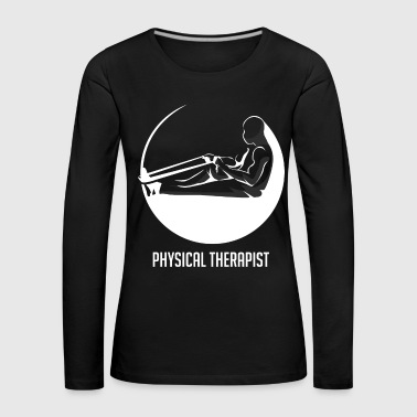 Physiotherapist therapist worker gift - Women's Premium Longsleeve Shirt