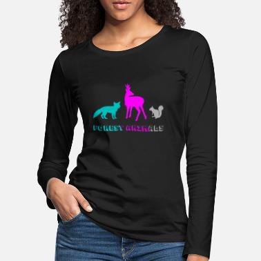 Forest Animal Forest animals - Women's Premium Longsleeve Shirt