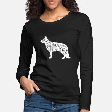 Shepherd German shepherd dog, german shepherd - Women's Premium Longsleeve Shirt