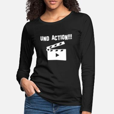 Action And action - Women's Premium Longsleeve Shirt