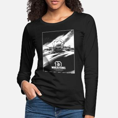 World of Tanks 10th Anniversary Poster - Women's Premium Longsleeve Shirt