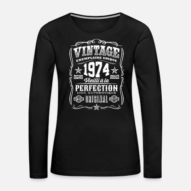 74th cadeaux d/'anniversaire présente année 1945 Unisexe Ringer Vintage T-shirt âgé à old