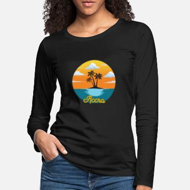 Accra Accra dream vacation and holiday - Women's Premium Longsleeve Shirt