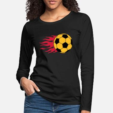 Form brennender Ball - burning ball - Frauen Premium Langarmshirt