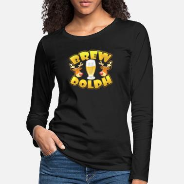 Holiday Drinks Gift Shirts - Vrouwen premium longsleeve
