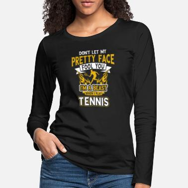 Son Tennis tennis player club gift gift idea - Women's Premium Longsleeve Shirt