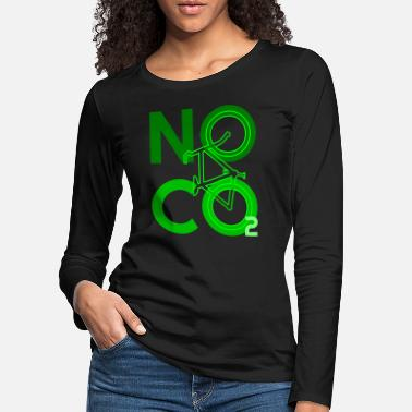 Carbon Dioxide No Co2 bike carbon dioxide - Women's Premium Longsleeve Shirt