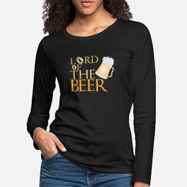 Lord of the Beer - Women's Premium Longsleeve Shirt