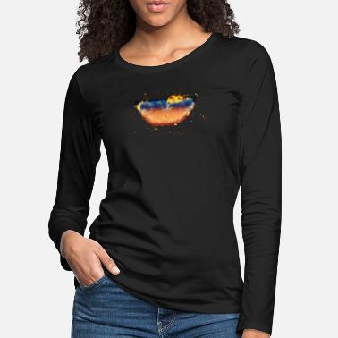 Clip Art Shelf burning clip art - Women's Premium Longsleeve Shirt