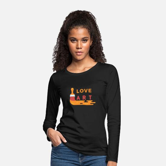 Symbol  Long sleeve shirts - art - Women's Premium Longsleeve Shirt black