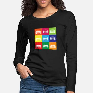 Multi Coloured Multi Colour Impreza - Women's Premium Longsleeve Shirt