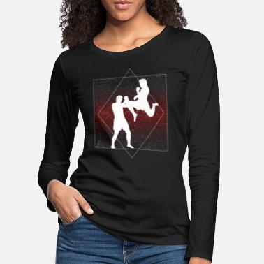 Martial Arts Kickboxing martial arts gift for everyone - Women's Premium Longsleeve Shirt