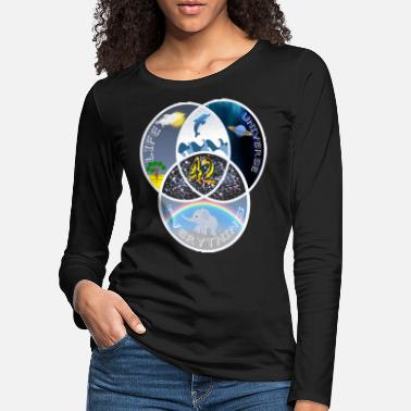 Digiart 42 Answer Life Universe - Women's Premium Longsleeve Shirt