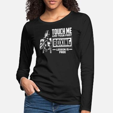 Boxing Training Boxing training - Women's Premium Longsleeve Shirt