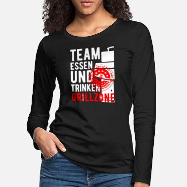 TEAM EAT DRINK v2W - T-shirt manches longues premium Femme