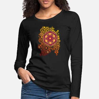 Artwork Flower of Life / flower of life POWER - Women's Premium Longsleeve Shirt