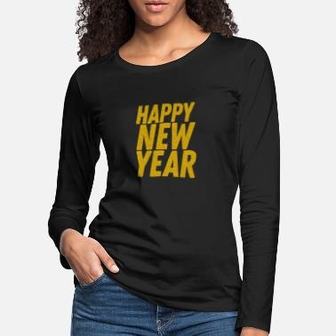 Digiart happy New Year - Women's Premium Longsleeve Shirt