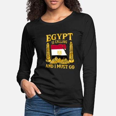 Egyptian Egyptian Egyptian Gets Holiday Gift - Women's Premium Longsleeve Shirt