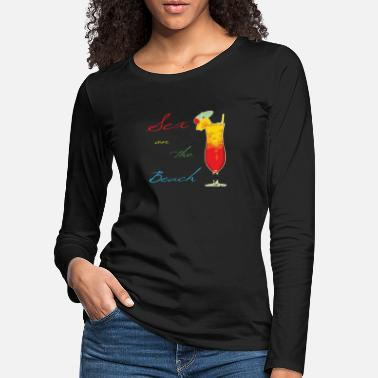 Sex On The Beach Cocktail Sex on the Beach - Vrouwen premium longsleeve