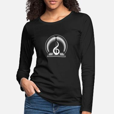 Instrument INSTRUMENT PIANO MUSIC SINGING PIANO GIFT - Women's Premium Longsleeve Shirt